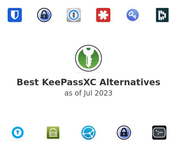 Best KeePassXC Alternatives