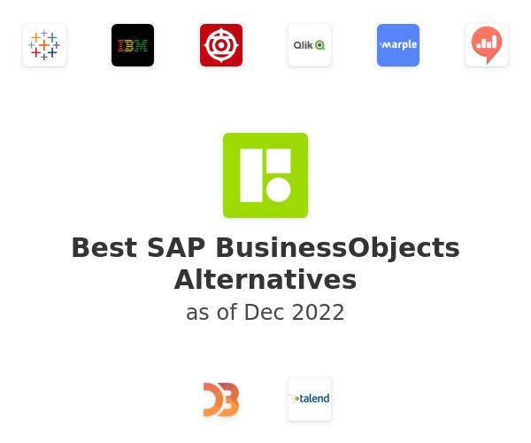 Best SAP BusinessObjects Alternatives