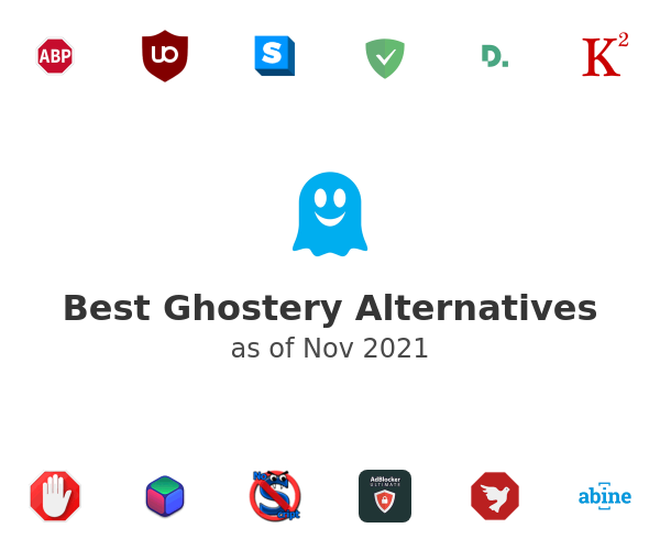 Best Ghostery Alternatives