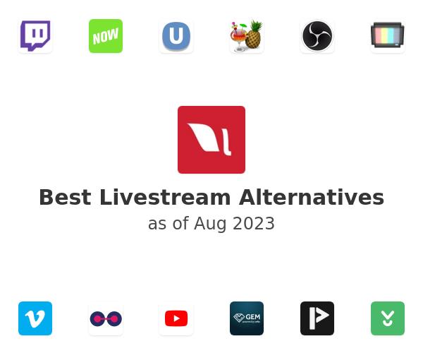 Best Livestream Alternatives
