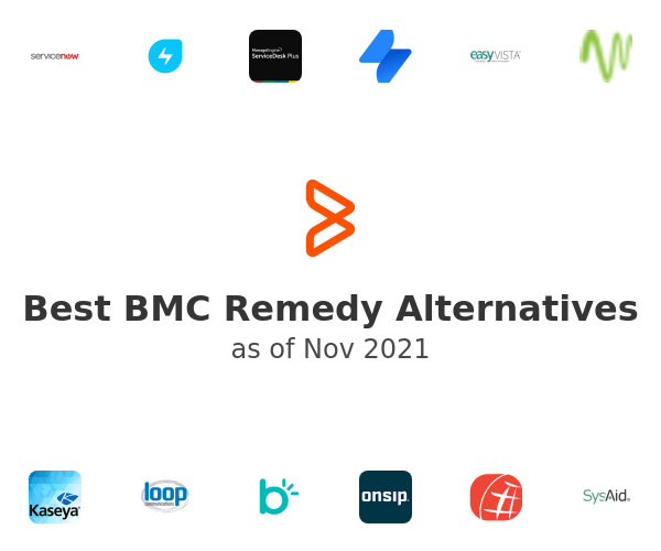 Best BMC Remedy Alternatives