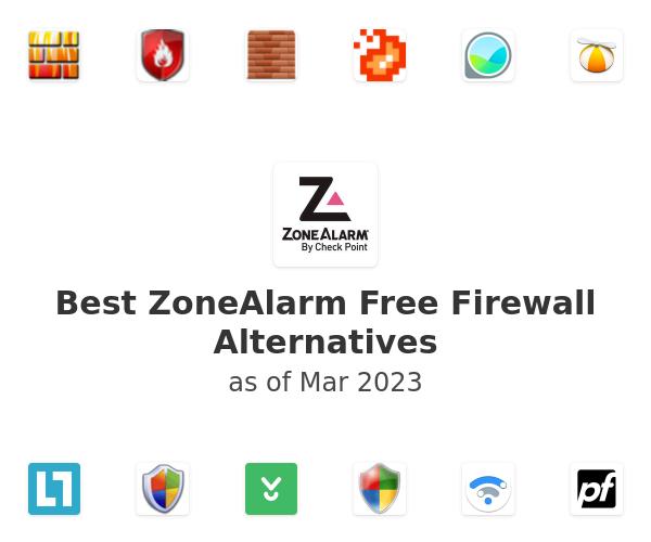 Best ZoneAlarm Free Firewall Alternatives