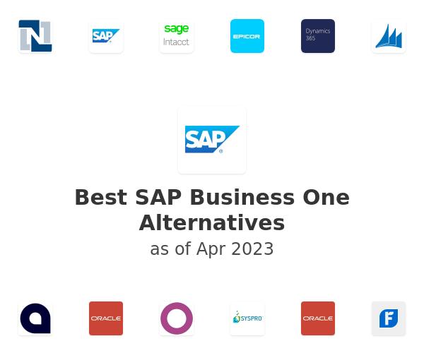 Best SAP Business One Alternatives