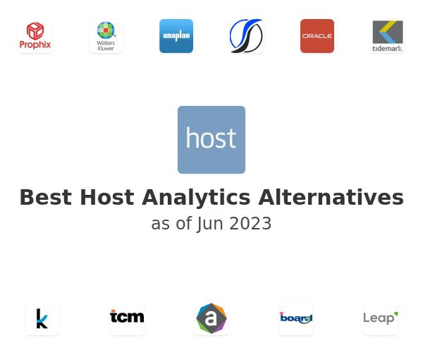 Best Host Analytics Alternatives