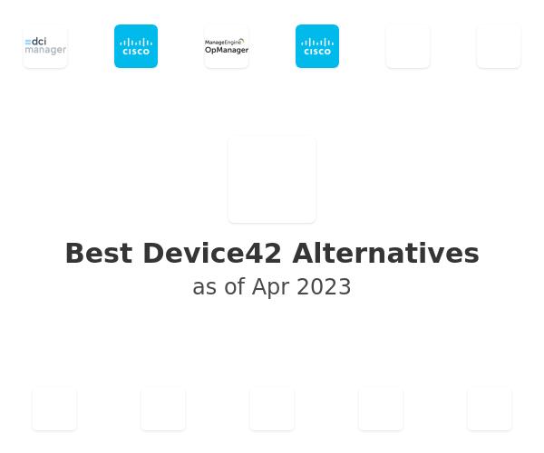 Best Device42 Alternatives