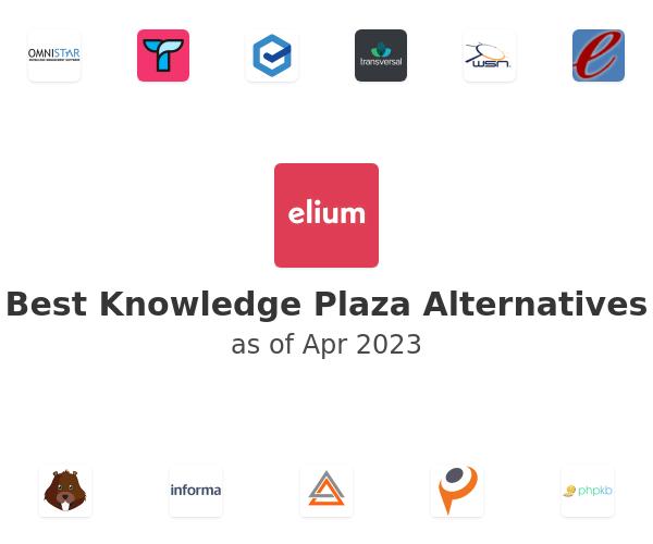 Best Knowledge Plaza Alternatives