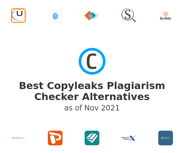 Best Copyleaks Plagiarism Checker Alternatives
