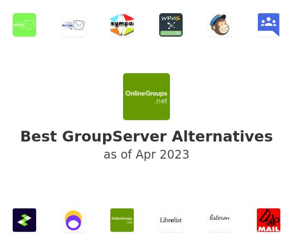 Best GroupServer Alternatives