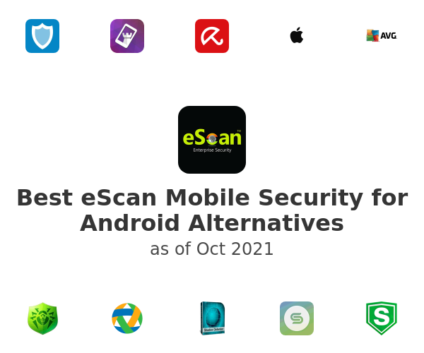 Best eScan Mobile Security for Android Alternatives