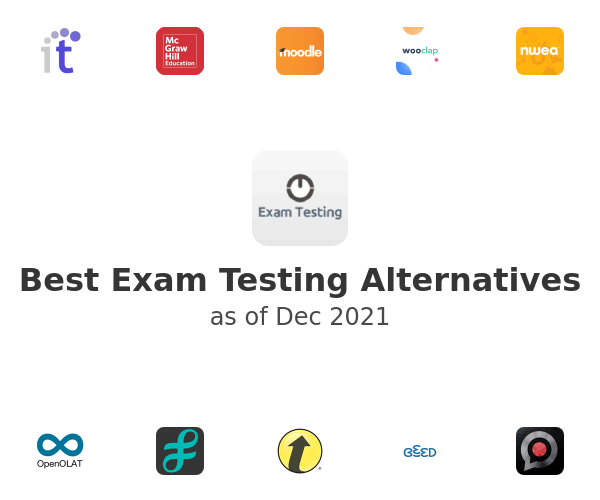 Best Exam Testing Alternatives