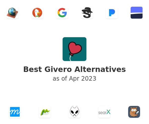 Best Givero Alternatives