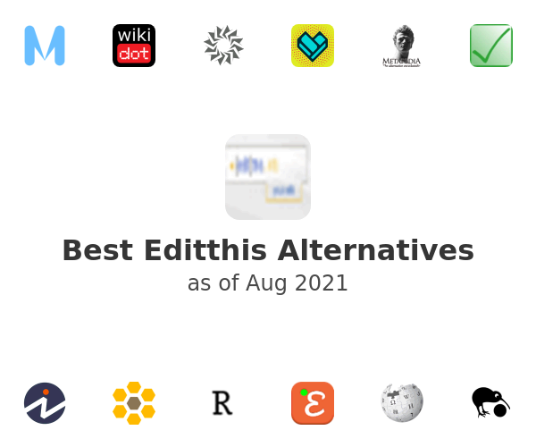 Best Editthis Alternatives