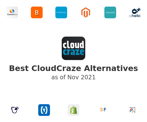 Best CloudCraze Alternatives