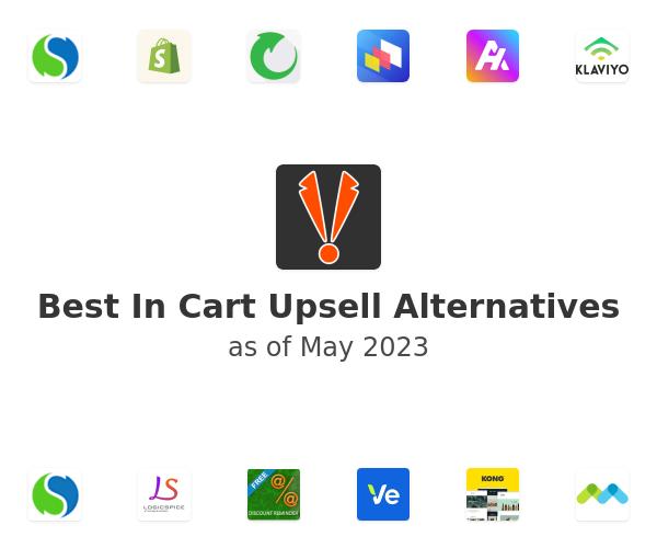 Best In Cart Upsell Alternatives