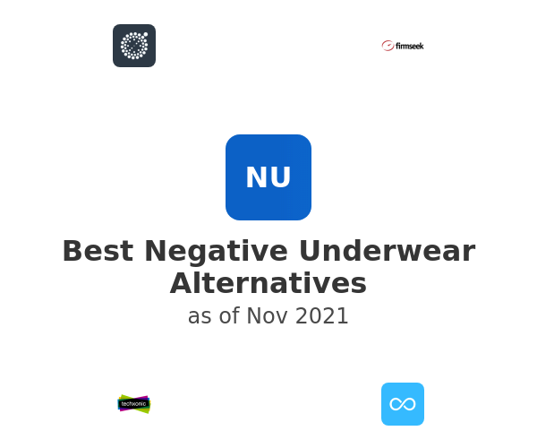 Best Negative Underwear Alternatives