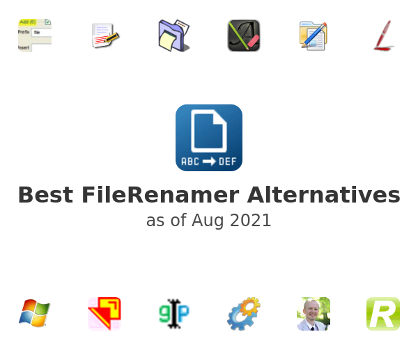 Best FileRenamer Alternatives