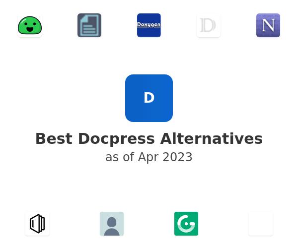 Best Docpress Alternatives