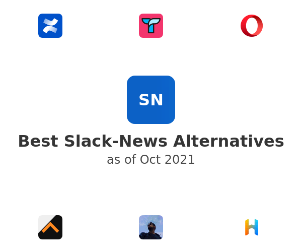 Best Slack-News Alternatives