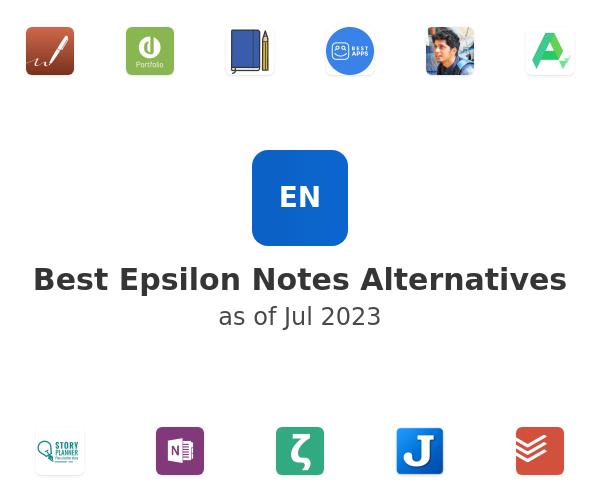 Best Epsilon Notes Alternatives