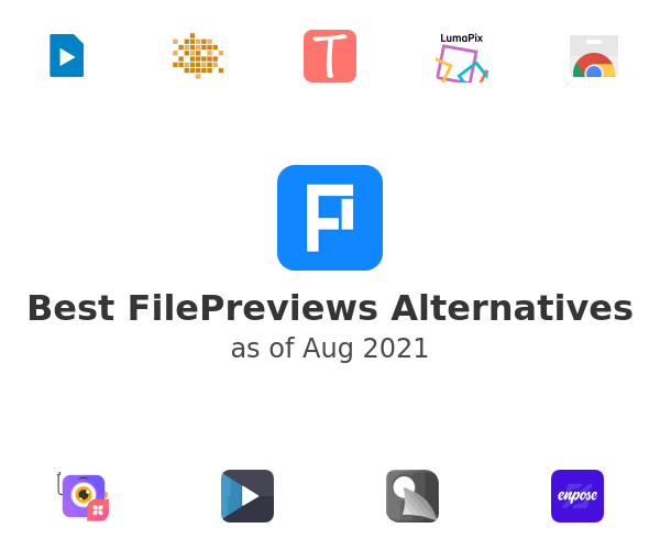 Best FilePreviews Alternatives