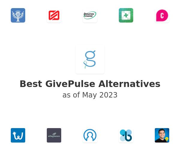 Best GivePulse Alternatives