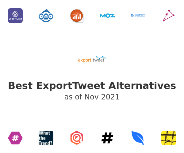 Best ExportTweet Alternatives