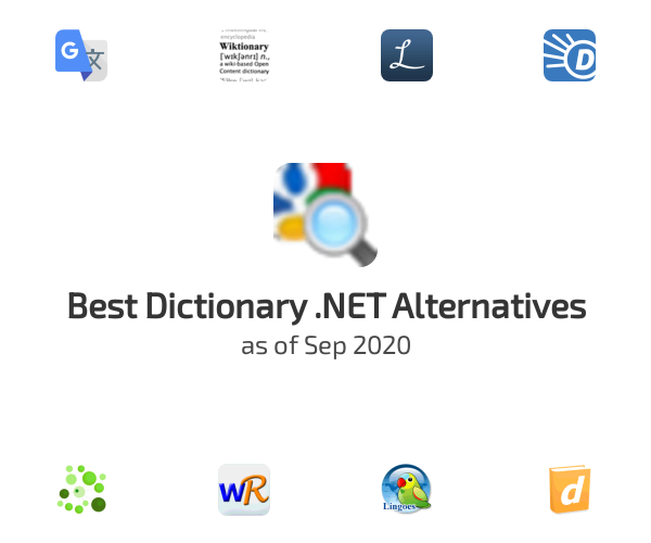 Best Dictionary .NET Alternatives