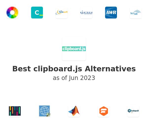 Best clipboard.js Alternatives