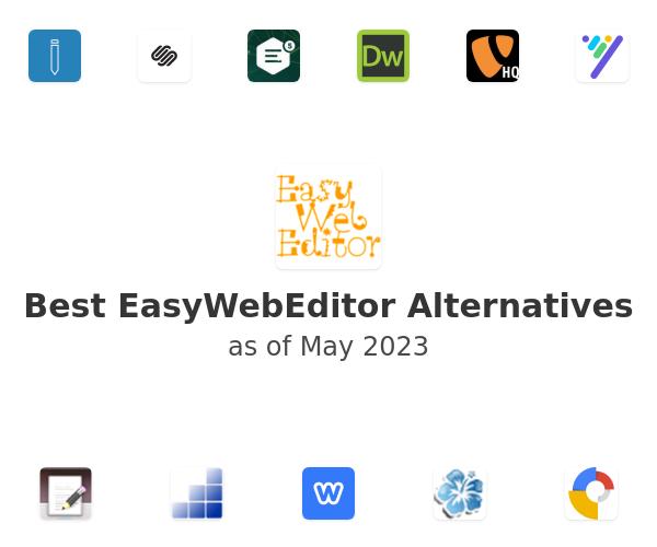 Best EasyWebEditor Alternatives