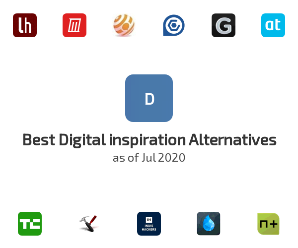 Best Digital inspiration Alternatives