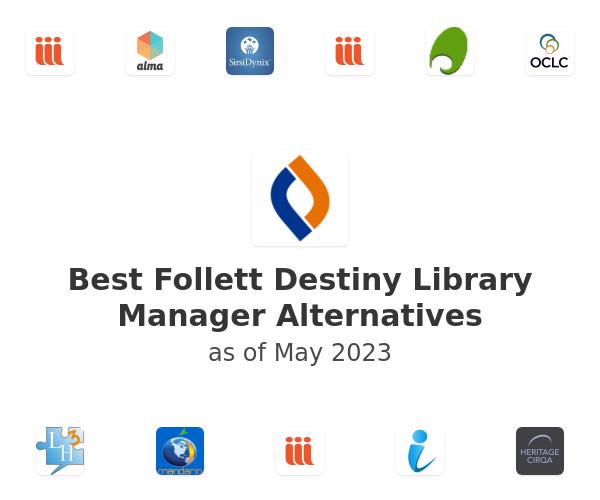 Best Follett Destiny Library Manager Alternatives