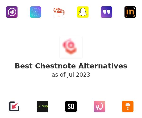 Best Chestnote Alternatives