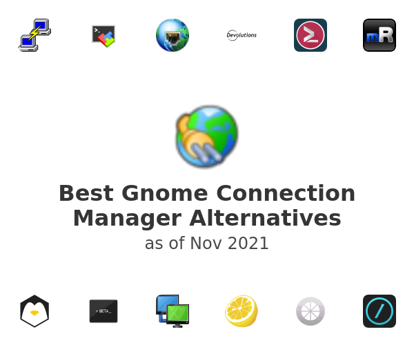 Best Gnome Connection Manager Alternatives