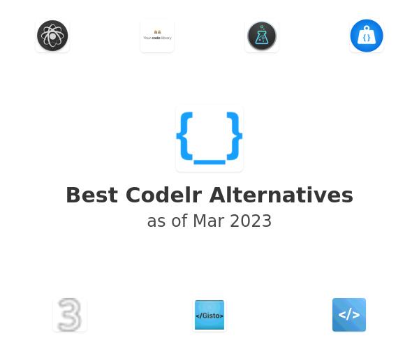 Best Codelr Alternatives