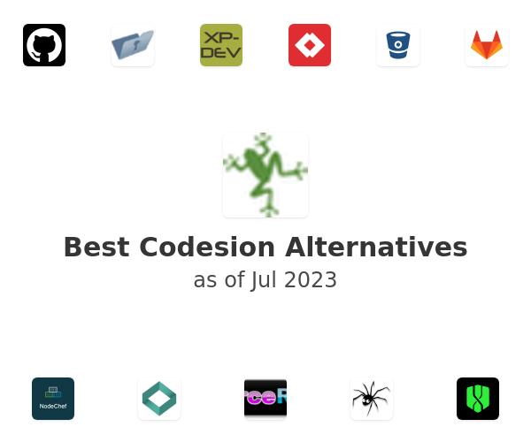 Best Codesion Alternatives