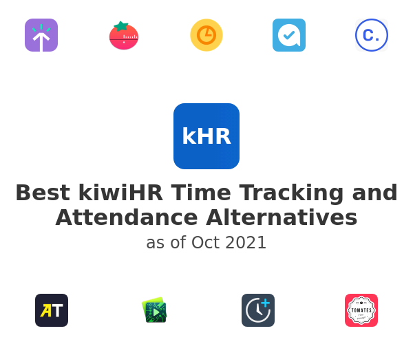 Best kiwiHR Time Tracking and Attendance Alternatives