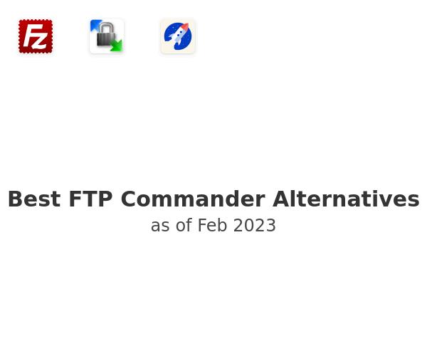 Best FTP Commander Alternatives