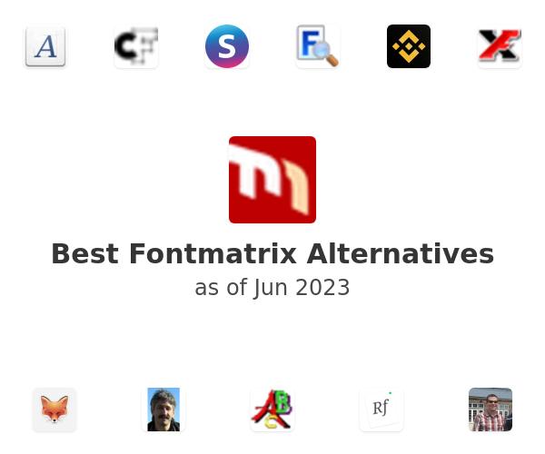 Best Fontmatrix Alternatives