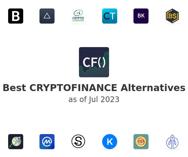 Best CRYPTOFINANCE Alternatives
