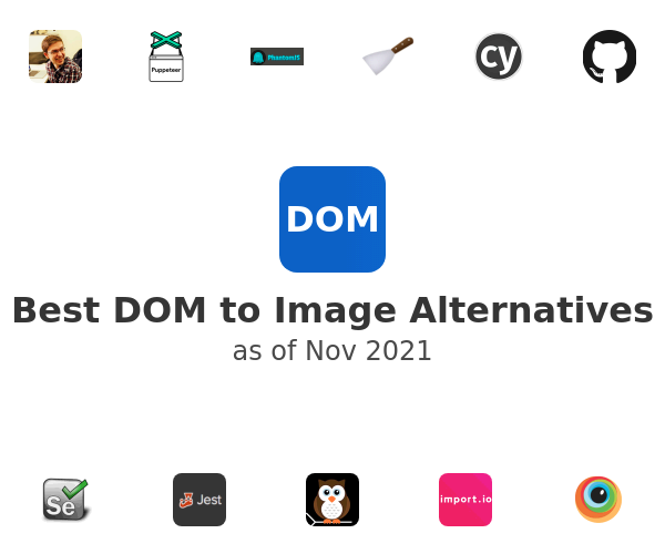 Best DOM to Image Alternatives