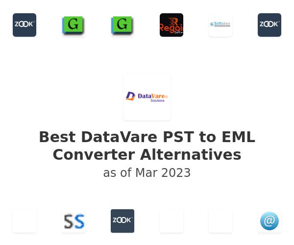 Best DataVare PST to EML Converter Alternatives