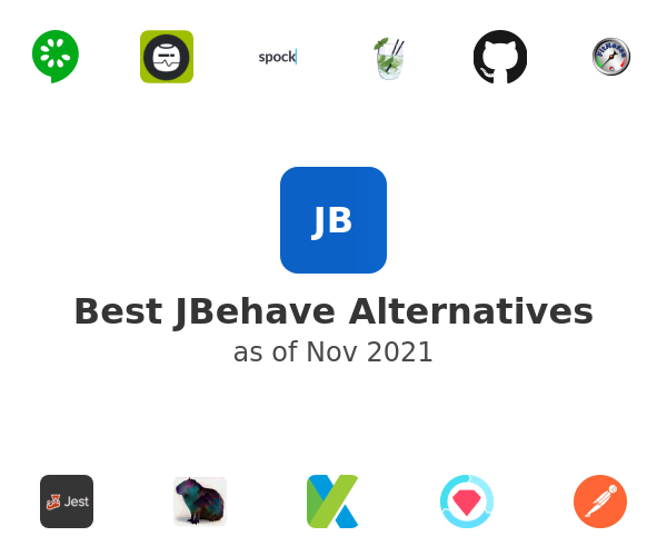 Best JBehave Alternatives