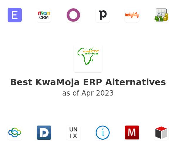 Best KwaMoja ERP Alternatives