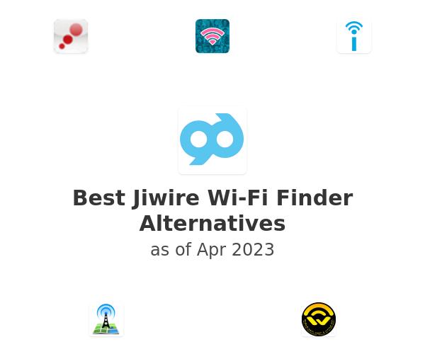 Best Jiwire Wi-Fi Finder Alternatives