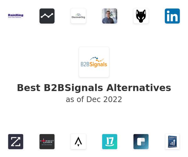 Best B2BSignals Alternatives