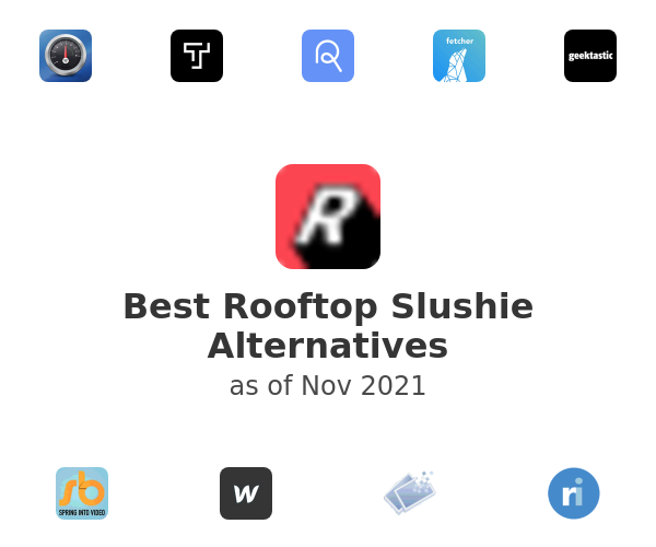 Best Rooftop Slushie Alternatives