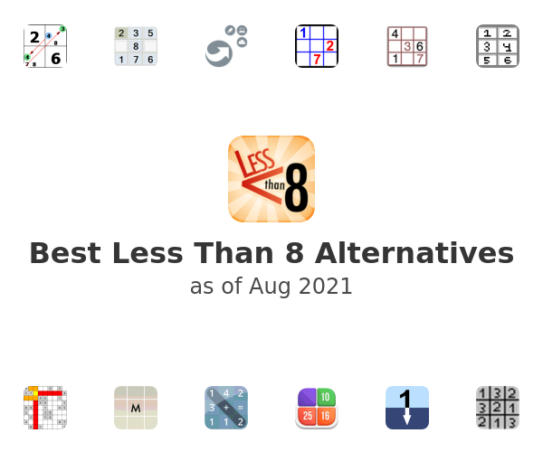 Best Less Than 8 Alternatives
