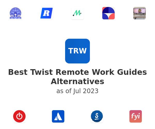 Best Twist Remote Work Guides Alternatives