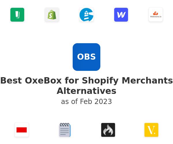 Best OxeBox for Shopify Merchants Alternatives