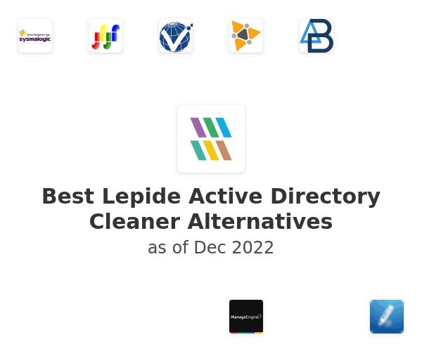 Best Lepide Active Directory Cleaner Alternatives